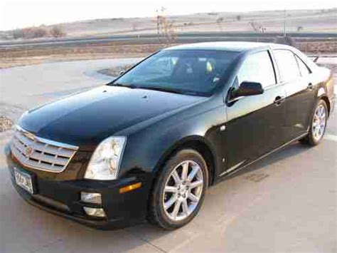 2007 Cadillac Sts 4 by Purchase Used Wow Black 2007 Cadillac Sts 4 Platinum