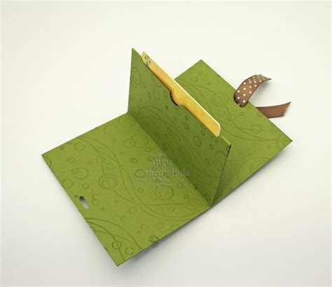 how to make card holder greetings gift card holder chic n scratch