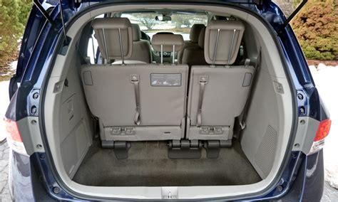 Minivan Cargo Space by 2014 Honda Odyssey Pros And Cons At Truedelta 2014 Honda