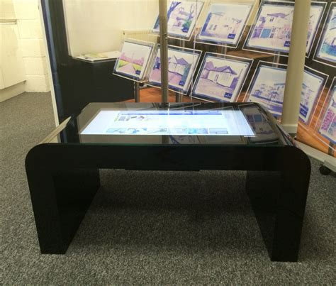 touch screen coffee table touchscreen coffee tables touchscreen coffee tables