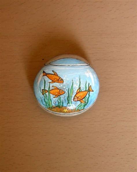 geology crafts for fishbowl rock rocks design goldfish