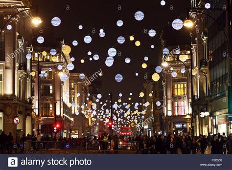 oxford st lights uk 1st november 2015 switching on oxford