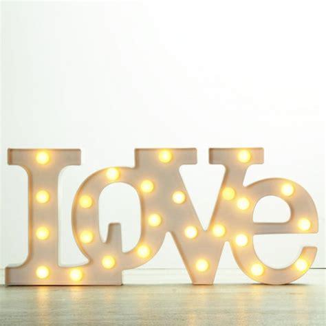 letras love luminosas una boda original - Letras Love Decoracion