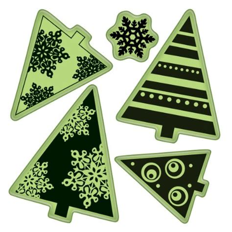 snowflake rubber st free winter clip images snowmen and snowflakes