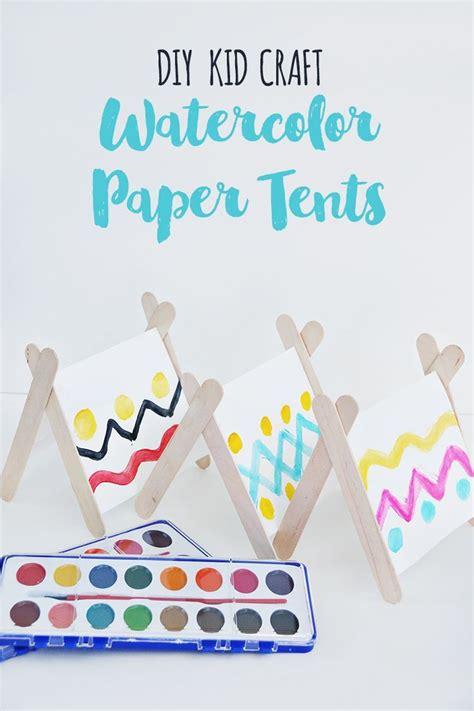 tent craft for best 25 tent craft ideas on preschool cing
