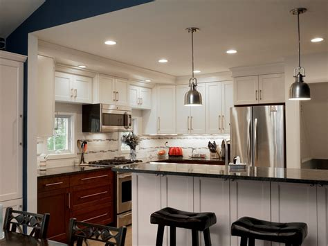 Open Concept Home Decorating Ideas split level kitchen remodel before and after nice design
