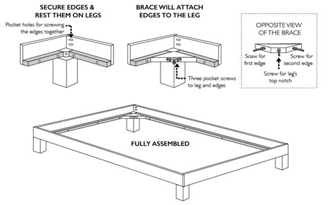 convert bed frame to platform bed how to convert a platform bed for a box