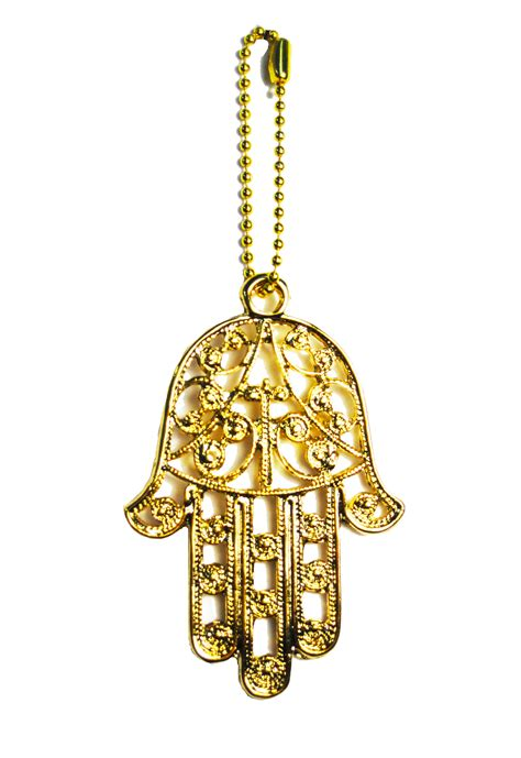 charms and gold filigree hamsa charm yaelle