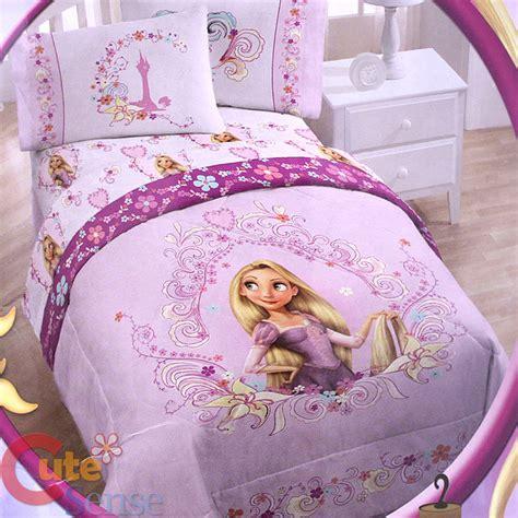 tangled comforter set disney princess tangled rapunzel 4pc bedding