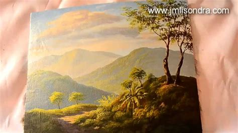 acrylic painting demonstration acrylic landscape painting demo by jm lisondra