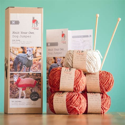 knit your own jumper knit your own jumper kit m redhound for dogs