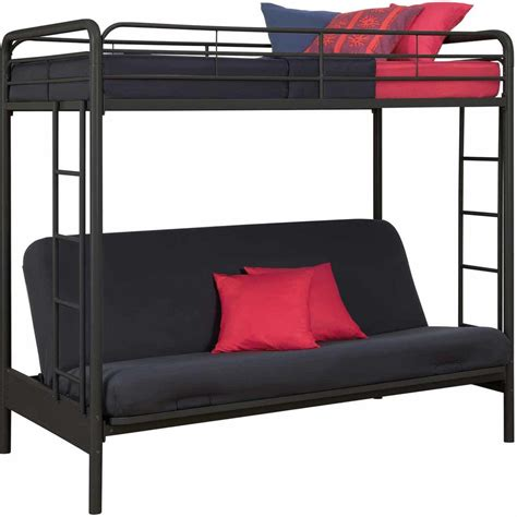 bunk bed frame with futon futon bunk bed and loft bed what s the difference