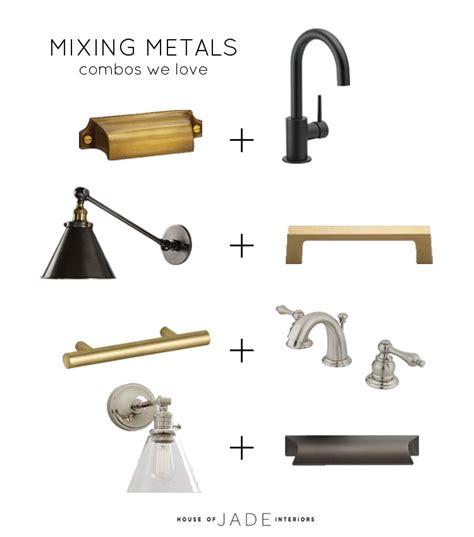 mixing metals mixing metals house of jade interiors