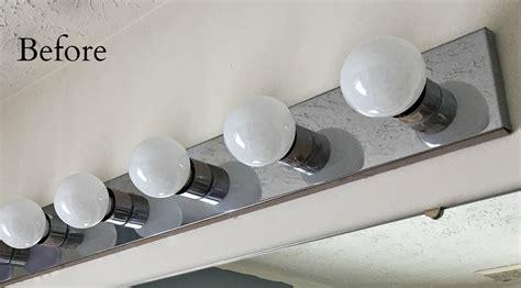 bathroom vanity lighting fixtures diy industrial light fixture snazzy things