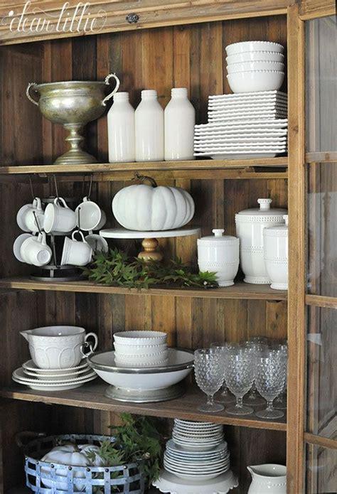 kitchen hutch decorating ideas 25 best ideas about hutch decorating on hutch