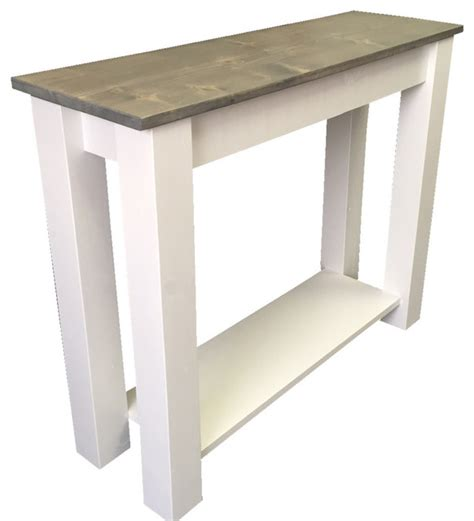farmhouse sofa table cottage sofa table farmhouse console tables by
