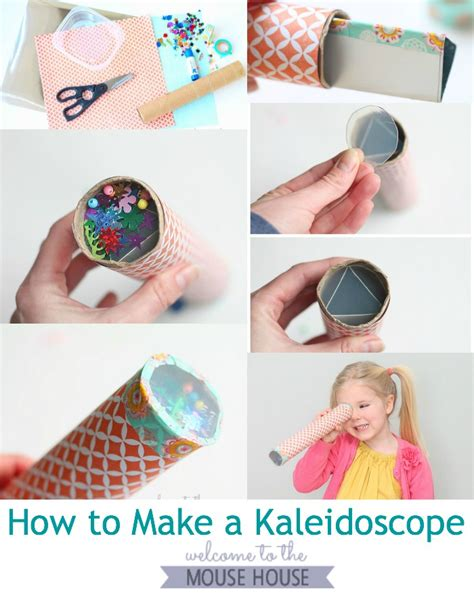 to make with toddlers how to make a kaleidoscope