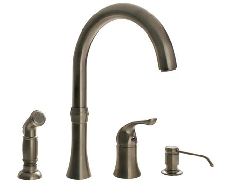 4 kitchen sink faucet 710 bn brushed nickel 4 kitchen faucet touch on kitchen sink faucets