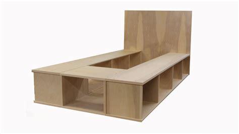 build platform bed plans to build platform bed with storage studio