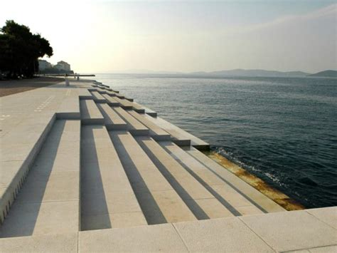 sea organ croatia sea organ uses waves to make beautiful