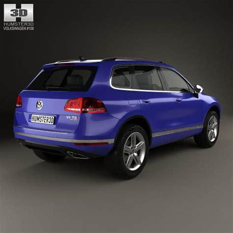 Volkswagen 2015 Models by Volkswagen Touareg 2015 3d Model Hum3d