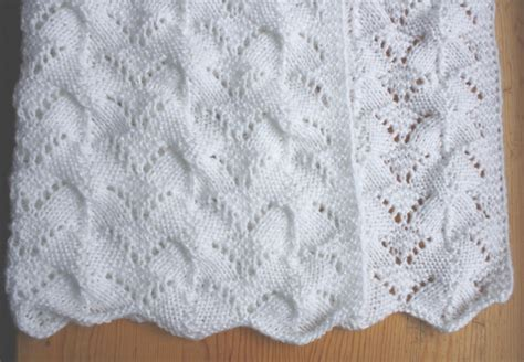 knitting patterns baby blanket all knitted lace reversible lace baby blanket pattern release