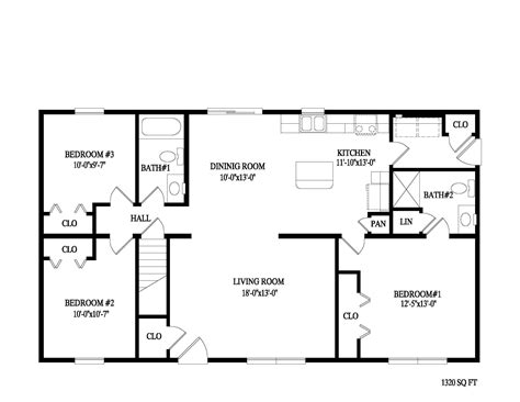 floor plans for ranch homes apartments bedroom ranch ideas also charming 2 bath floor plans pictures horror style