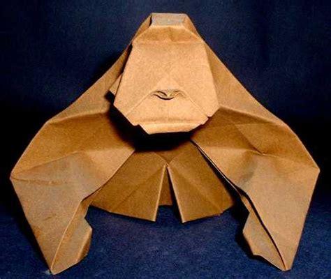 origami gorilla origami gorillas page 1 of 2 gilad s origami page