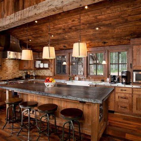 house kitchen decor best 25 log cabin kitchens ideas on cabin