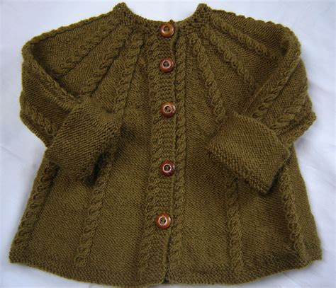 knit toddler sweater baby sweater knit wool olive green size 3m