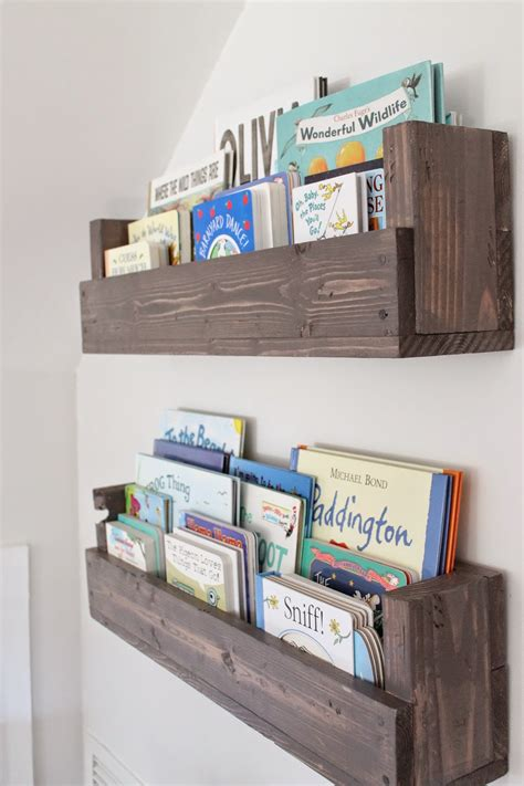 book shelves for rooms the picket fence projects baby s book nook