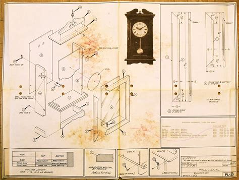 clock plans woodworking clockit wall clock pl 20 airplanes and rockets