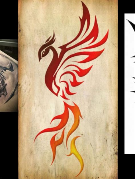 tribal phoenix tattoo pictures to pin on pinterest