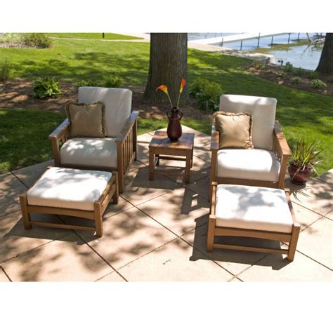 patio chair and ottoman set patio chair with ottoman set club mission club chair and