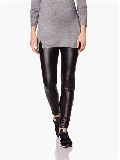 faux leather maternity faux leather maternity legging thyme maternity