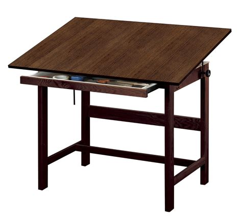 the drafting table save on discount alvin titan drafting table with drawer
