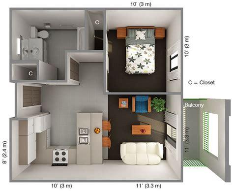 one bedroom design international house 1 bedroom floor plan top view