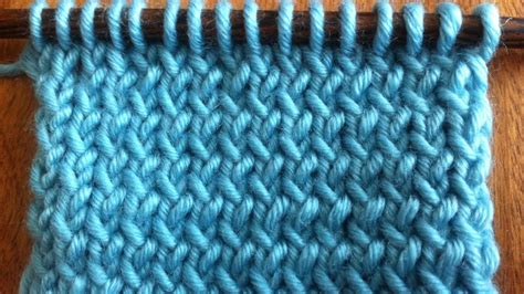 knitting from the how to knit through the back loop new stitch a day