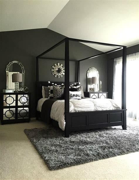 black bedroom designs feel with these black d 233 cor ideas to your master bedroom