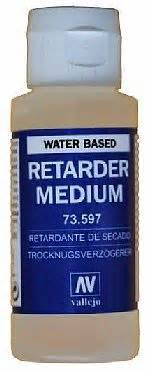 acrylic paint retarder bottle retarder medium water based 60ml hobby and model
