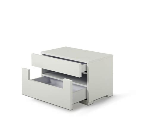 lacquer furniture modern ceres modern white lacquer nightstand