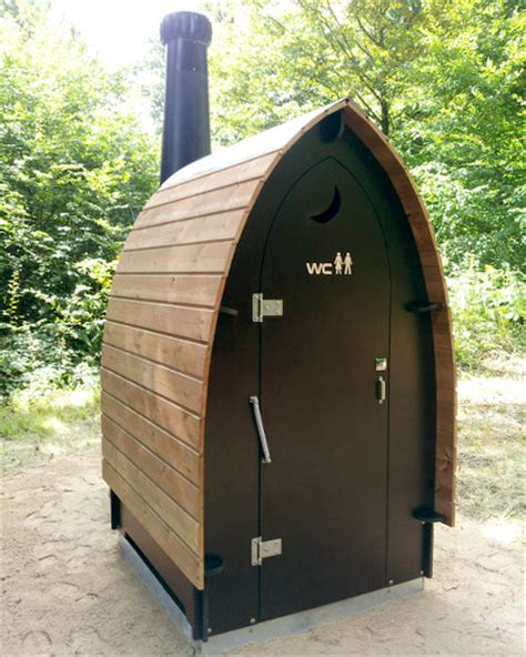 Eco Outdoor Toilet by Woowoo Waterless And Composting Toilets