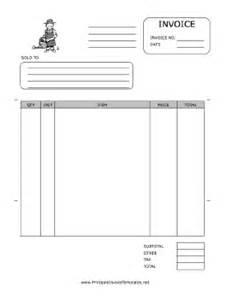 invoice format free download gardener invoice template