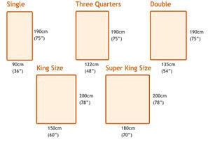 bed size in cm bed measurements dimensions info