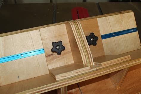 spline woodworking table saw spline jig by smitty22 lumberjocks
