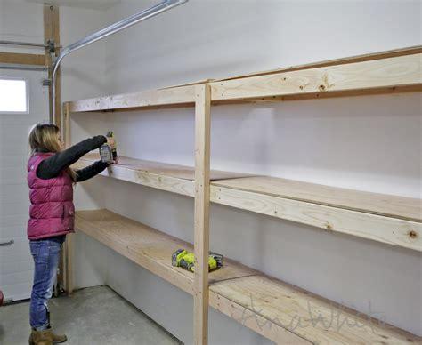 garage storage design plans white easy and fast diy garage or basement shelving