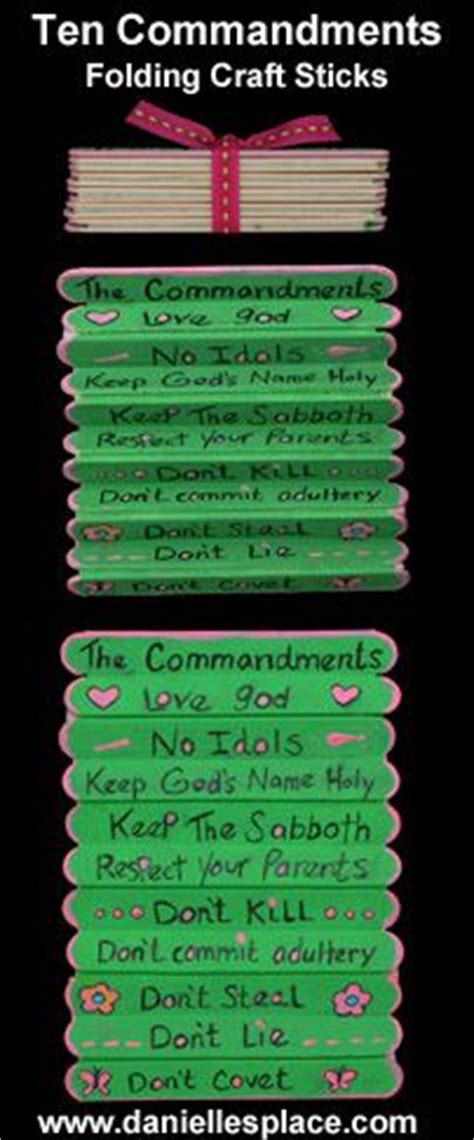10 commandments craft for set this up ready for to write the 10 commandments