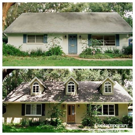 before and after small home curb appeal before and after