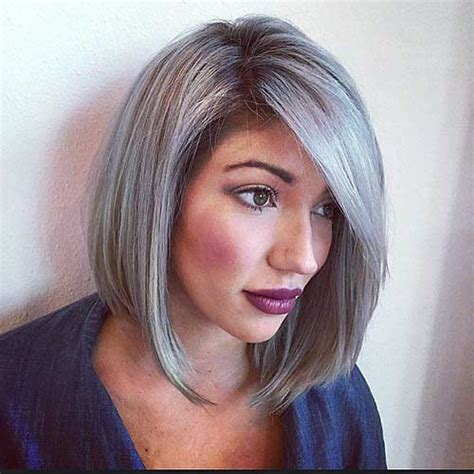 mid length grey hair 14 short hairstyles for gray hair short hairstyles 2016