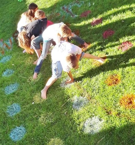spray painting your lawn five outdoor to make this weekend